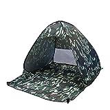 YeahiBaby Strandmuschel UV Sonnenschutz Sichtschutz Indoor Outdoor Urlaub Zelt (Tarnung)