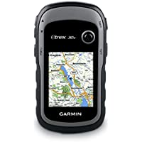 Garmin eTrex 30x Outdoor Handheld GPS Unit with TopoActive Western Europe Maps, Black/Grey