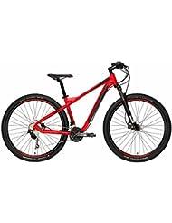 Mountain Bike Cicli Adriatica Wing M2.2 con marco de aluminio, frenos de disco hidráulico, horquilla delantera suave, cambio Shimano a 30 Velocidad, Arancio Fluo