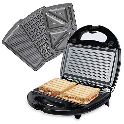 OZAVO 3 en 1 Sandwich Grill, Sandwitch Toaster, Croque...