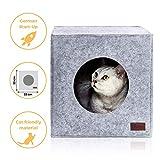 Premium Katzenhöhle von PiuPet® inkl. Kissen