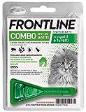 Frontline | Combo Spot On Gatti e Furetti | Protezione da pulci, pidocchi, zecche, uova e larve di pulci | 1 Pipette | 0.5 ml