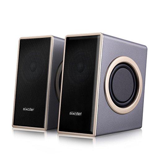 Home Speaker Haut-parleur PC Stéréo, Mixcder MSH169...