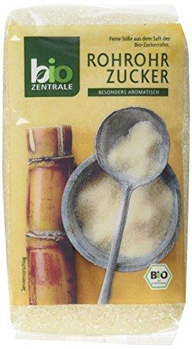 biozentrale Roh-Rohrzucker, 3er Pack (3 x 500 g)