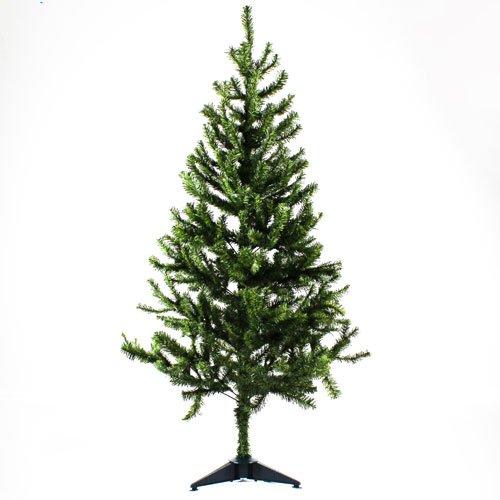 Unbekannt PMS 120cm 180Spitze PVC Weihnachtsbaum W/Kunststoff Boden Box C/La (Pvc-boden-boxen)