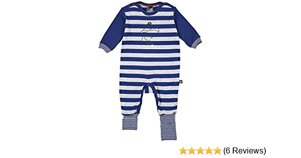 Schiesser Schlafanzug Strampler Overall Baby Junge Capt/'n Sharky Vario NEU