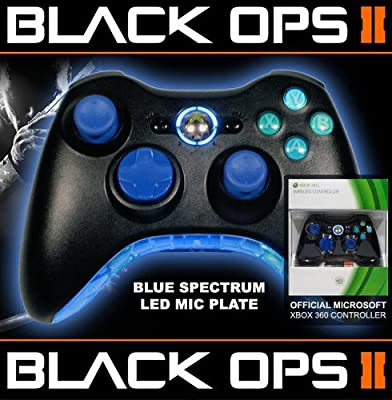 Xbox 360 Rapid Fire Controller Blue Spectrum