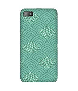 Green India Textile Printed Back Cover Case For BlackBerry Z10