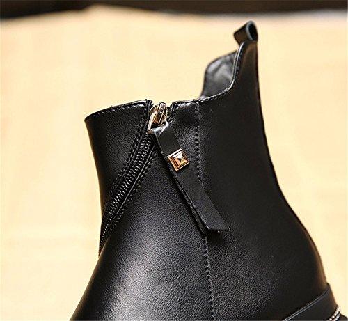 FLYRCX Caldo caldo caldo Snow Boots e tempo libero fashion ladies stivali in inverno,38 36