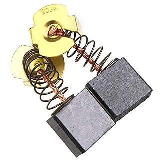 2 Paar Kohlebürsten Ersatzteil für die Evolution Rage 3 Elektrowerkzeuge