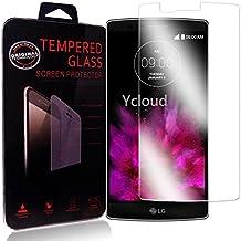 Ycloud Protector de Pantalla para LG G Flex 2 (5.5Pulgada) Cristal Vidrio Templado Premium [9H Dureza][Alta Definicion]