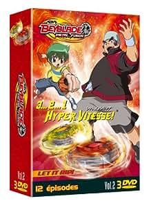 Beyblade Metal Fusion Saison 1 vol 2 Coffret 3 DVD
