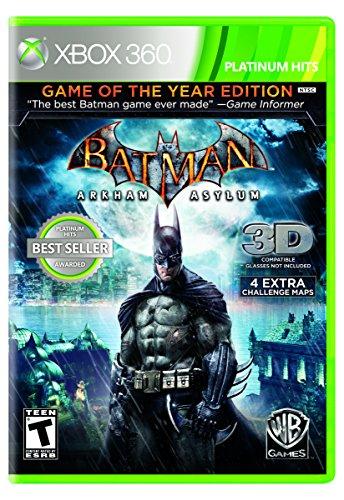 Batman: Arkham Breathum (Platinum Hits) (Xbox 360-spiele Arkham Asylum)