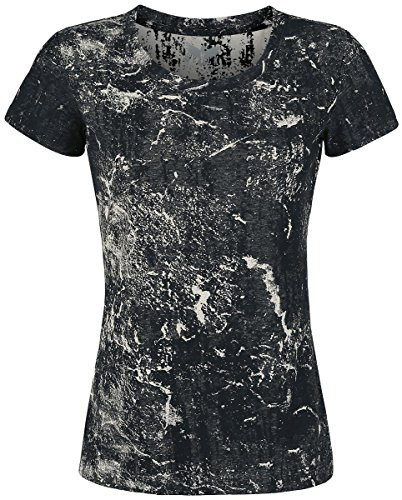 Black Premium by EMP Dark Ice Girl-Shirt schwarz/grau Schwarz/Grau