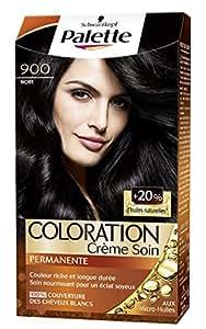 Schwarzkopf - Palette - Coloration Permanente - Noir 900