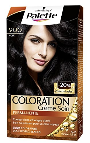 Coloration marron clair sur cheveux noir