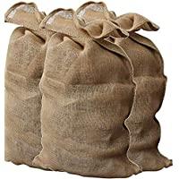 Sacos de arpillera de 46x 84cm (paquete de 6unidades)