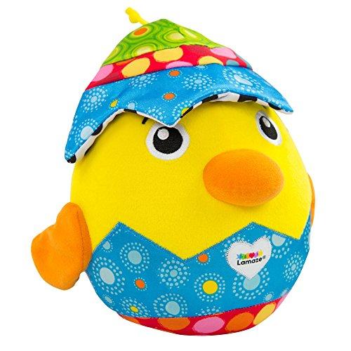LAMAZE Versteck mich Küken - Hochwertiges Spielzeug für Babys ab 6 Monate - Kunterbuntes Lernspielzeug mit Sound von TOMY