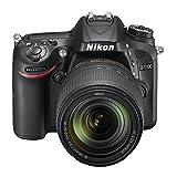 Nikon D7200 (24 Megapixel, 8 cm (3,2 Zoll) LCD-Display, Wi-Fi, NFC, Full-HD-Video) Kit inkl. AF-S DX Nikkor 18-140 mm 1:3,5-5,6G ED VR Objektiv - 7