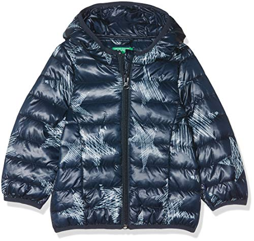 san francisco 2966d 03fe3 United Colors of Benetton Jacket, Chaqueta para Niñas, Azul (Blue 70t) 98