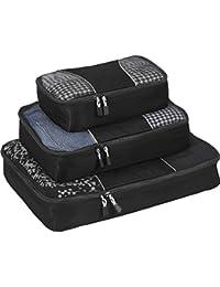 eBags Cubes de voyage - Sacs de rangement bagage - lot de 3