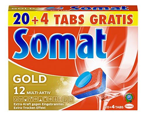 Somat Tabs 12 Gold, 2er Pack (2 x 480 g)