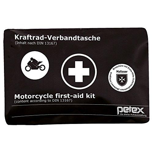 PETEX 43939904 Motorrad-Verbandtasche, Schwarz