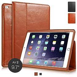 ZusammenfassungDie cognacbraune KAVAJ Echtledertasche Berlin für das Apple iPad Air 2 überzeugt mit hochwertiger Verarbeitung, einem zeitlosen Look und perfektem Sitz. Das schlanke Design trägt nicht zusätzlich auf und unterstreicht die moderne Opt...