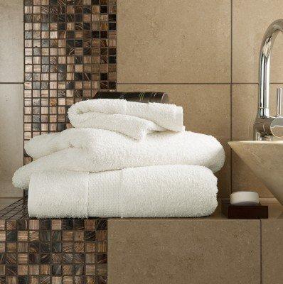 Handtuch-Set Miami 8-teilig Ägyptische Baumwolle 700g/m²Extra weich Top Qualität Luxus Cremefarben