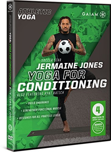 Gaiam Athletic Yoga: Yoga for Conditioning with Jermaine Jones by Jermaine Jones