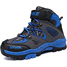 f5b3b521fbb5a Zapatos de Algodón Botas para la Nieve Botas de Invierno para Niños Botas  de Senderismo Cálido