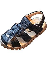 0e19fca30c916 Malloom 0-2 Años bebé Ocasional Sandalias Vendaje Cross-Atado único Cuna  Hueco Zapatos para Niños Niñas · EUR 1