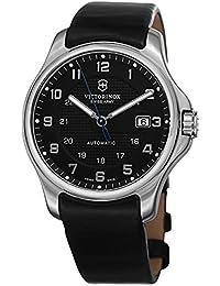 Victorinox Swiss Army Officers Officer 's Mechanical–Reloj de pulsera analógico automático piel 241670.1