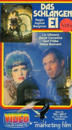 Das Schlangenei [VHS]: Alle Infos bei Amazon