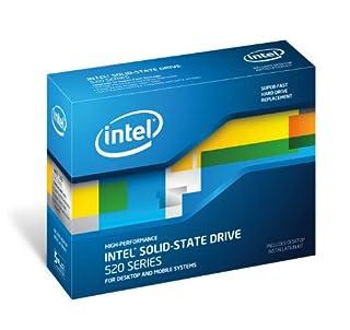 """Intel SSD Série 520 SSDSC2CW120A3K5 Disque flash interne 2,5"""" Controleur SandForce SATA III 120 Go SSD avec câbles et logiciel (B006YQ9RQC)   Amazon price tracker / tracking, Amazon price history charts, Amazon price watches, Amazon price drop alerts"""
