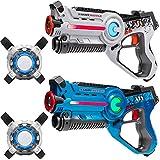 Die besten Laser Tag - Light Battle Lasertag Spielset für Kinder: 2X Laserpistole Bewertungen
