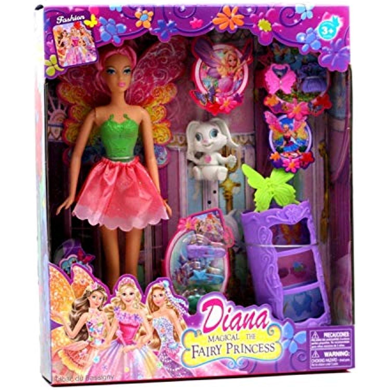 Dolls Maison House Miniature Maison Dolls de poupée 1:12, Accessoire nostalgique, lit Fer Blanc 008d14