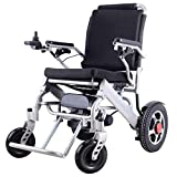 Electric Wheelchair Folding Old Man Powerchair Lightweight Full Intelligent Powerchair Super Endurance Safer Elderly Wheelchair