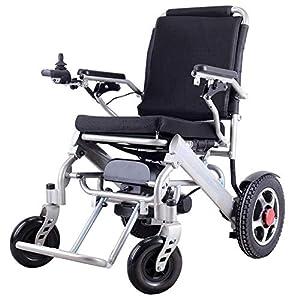 Electric Wheelchair Folding Old Man Powerchair Lightweight Full Intelligent Powerchair Super Endurance Safer Elderly Wheelchair
