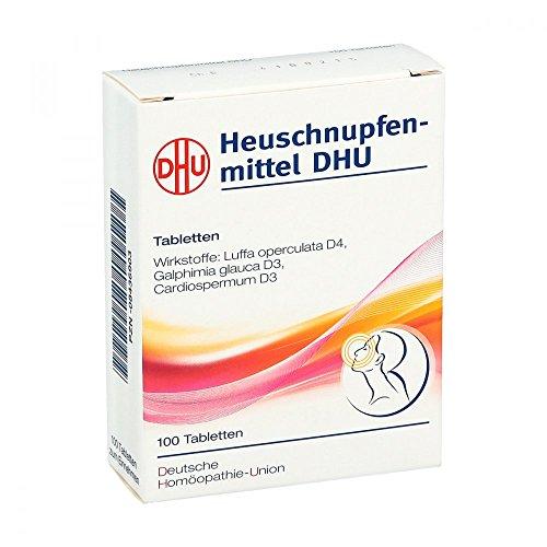 HEUSCHNUPFENMITTEL DHU Tabletten 100 St Tabletten