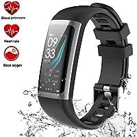 Bracelet Connect¨¦ Cardio Smart Watch Suivre l'activit¨¦ Smart Watch Tracker avec Moniteur de Tension Art¨¦Rielle