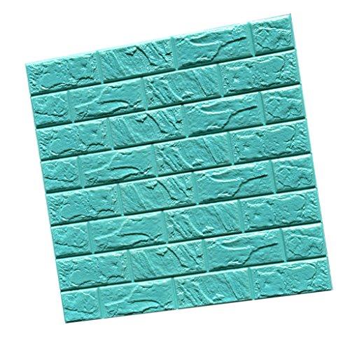 3D-Brique-Autocollant-Etanche-Mural-Sticker-Carrelage-Auto-adhsif-pour-Dcor-Maison-60cmx60cm