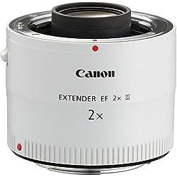 Canon Extender EF 2X III SLR Rallonge Blanc - Lentilles et filtres d'appareil Photo (SLR, 9/5, Rallonge, Canon EF, Blanc, 7,2 cm)