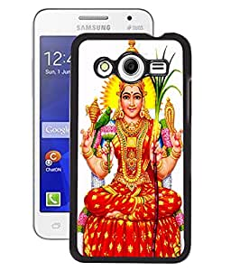 Fuson 2D Printed Lord Laxmi Designer Back Case Cover for Samsung Galaxy Core 2 - D519