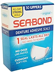 Sea-Bond Original Denture Adhesive Wafers Uppers, 30 count () by Sea-Bond (English Manual)