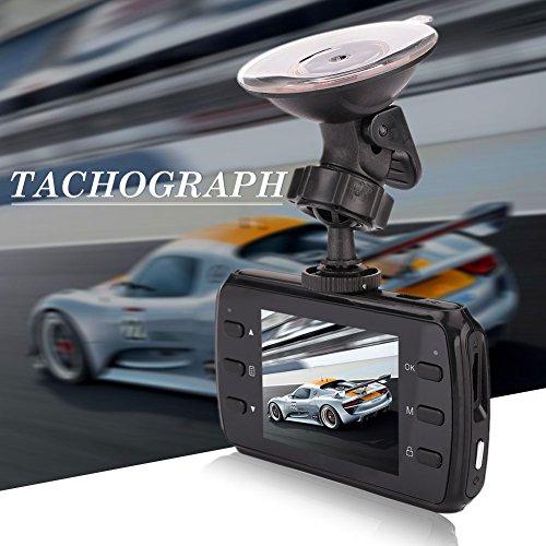 Sedeta® K8 1080P Auto-Kamera-Recorder DVR Video Fahrzeug Straße Dash Cam Bewegungserkennung mit Nachtsicht vorne und hinten