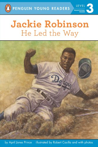 Jackie Robinson: He Led the Way (Penguin Young Readers, Level 3) (English Edition)