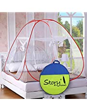 Story@Home Foldable Mosquito Net(King Size/Queen-XL Size Double Bed)