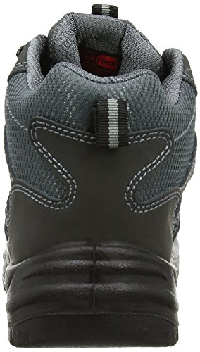 Blackrock - SF37, Scarpe antinfortunistiche da unisex adulto, grigio(black/grey), 47 grigio(Black/Grey)