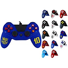 Manette pour PS4 Pro5 controller - Manette pour Playstation 4 Pro 5 - Licence officielle FCB - FC Barcelone